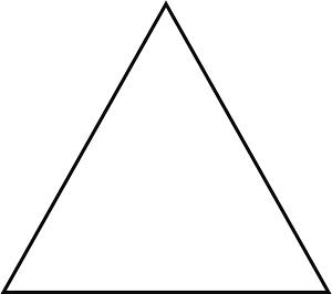 مثلث متساوی الاضلاع در تابلوهای راهنمایی و رانندگی
