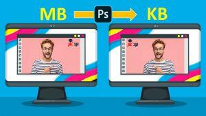 کاهش حجم عکس بدون افت کیفیت در فتوشاپ