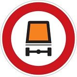 عبور وسایط نقلیه با محموله خطرناک ممنوع
