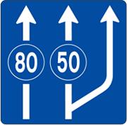 حداقل سرعت در خط های عبور