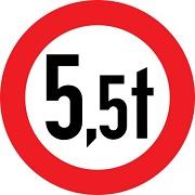 عبور وسائط نقلیه با وزن بیش از 5.5 تن ممنوع