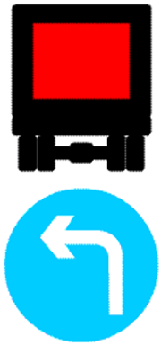 مسیر کامیون حامل کالای خطرناک