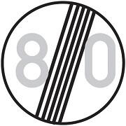 پایان محدودیت سرعت 80 کیلومتر
